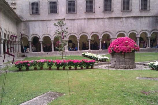 El claustre de la catedral