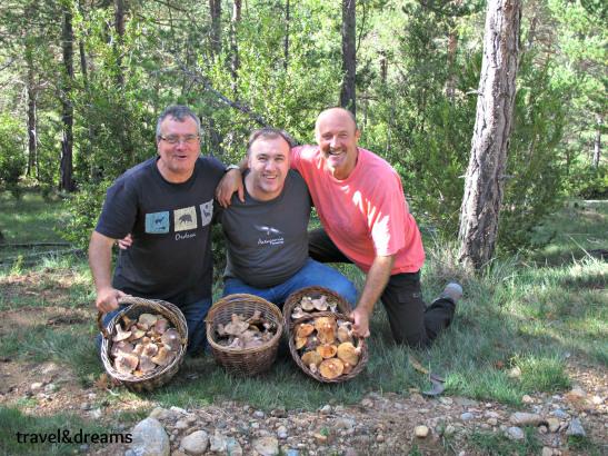 Amb Josep Serrano i Paco Clos als pirineus / With Josep Serrano and Paco Clos in the Pyrenees