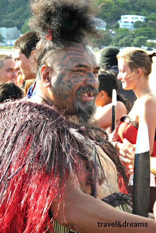 Guerrer maorí. Paihia, NOva Zelanda / Maori warrior. Paihia, New Zealand
