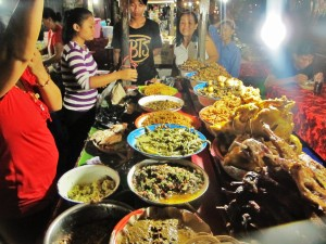 Gianyar night Market. BAli