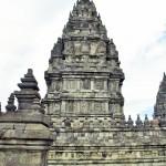 Un dels temples de Prambanan