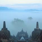La boira des de Borobudur