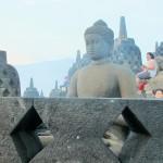 Estatua de Buda a Borobudur