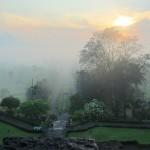 Vista des de Borobudur