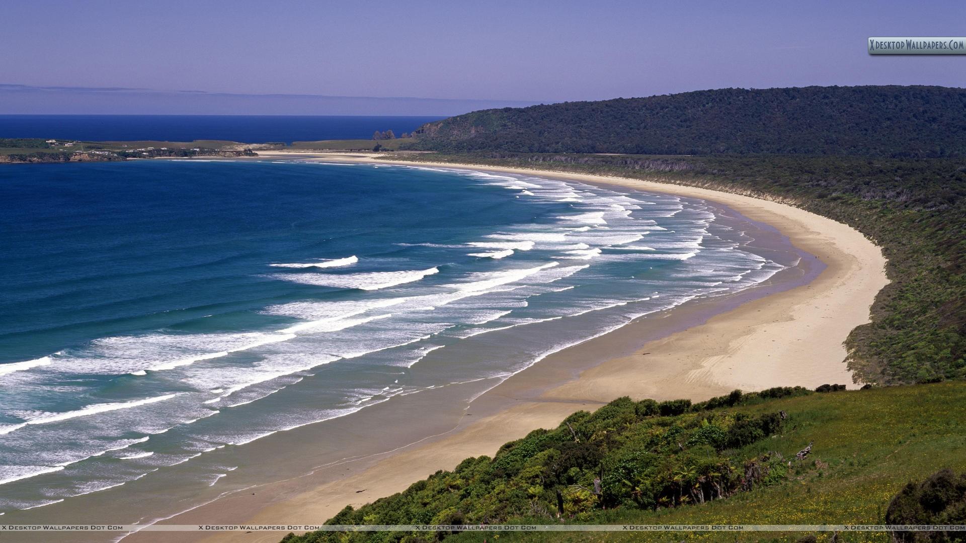 Tautuku-Beach